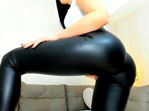 Porn latex leggins Spandex