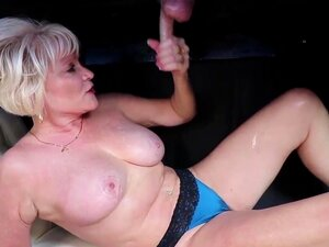 Mother puts husband in panties then strokes small cock Mom No Panties Porn Videos At Xecce Com