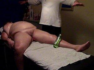 bbw mature gets massage